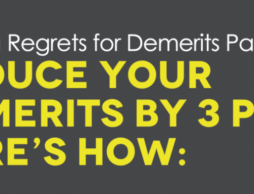 The Regret of Past Demerits